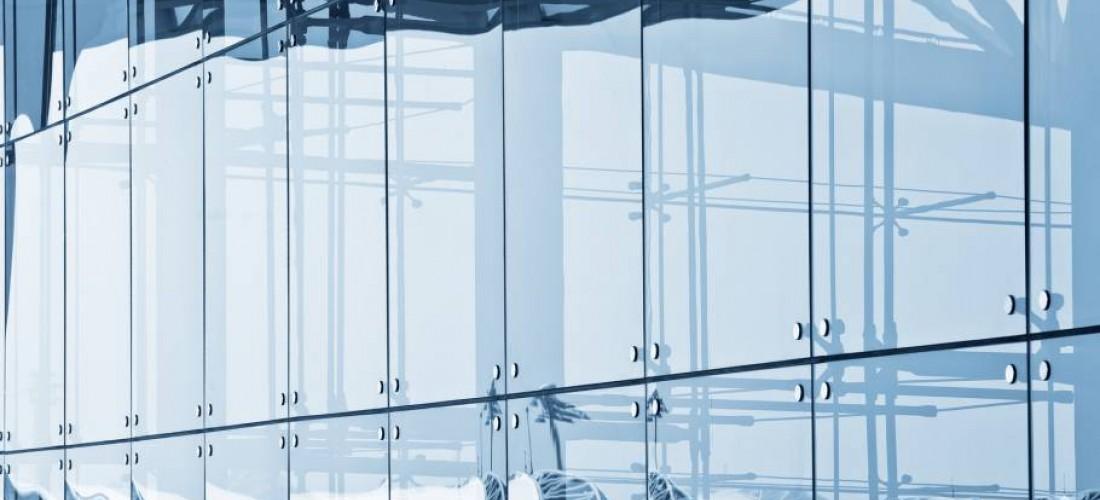 realizzazione facciate continue in vetro