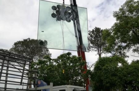 Vetreria New Glass di Roma, Montaggi