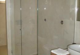 Cabina doccia in vetro temperato