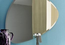 Specchio sagomato e bisellato