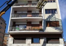 Montaggio Vetri su attico a Roma centro