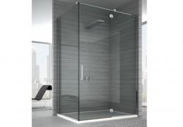 Box doccia con porta decentrata