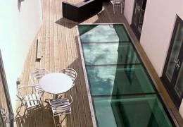 Pavimenti in vetro calpestabile